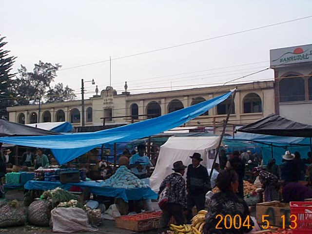 Market day in Tecpan