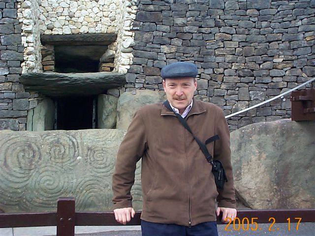Passage Tomb entrance, Newgrange, Ireland