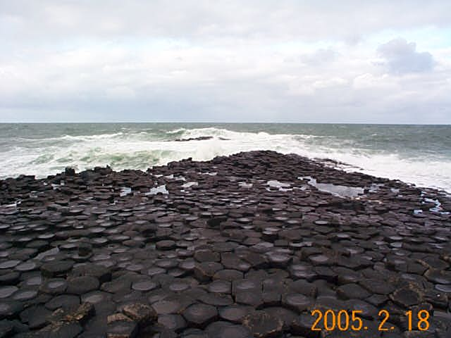 Giant's Causeway, Nothern Ireland, looking North