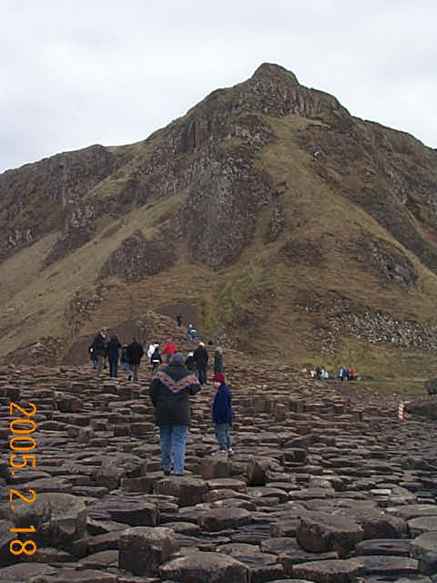 Giant's Causeway, Nothern Ireland, looking South
