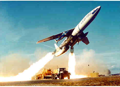 Snark launch, photo from 45th Range Squadron, 45th Space Wing, Patrick Air Force Base
